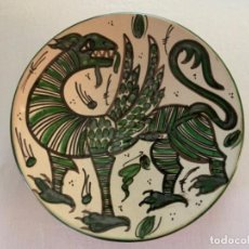 Antigüedades: PLATO DOMINGO PUNTER. Lote 209561912