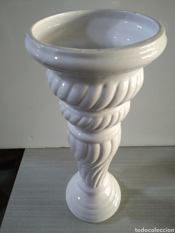 Antigüedades: Pie de cerámica para maceta o similar - Foto 2 - 209574351