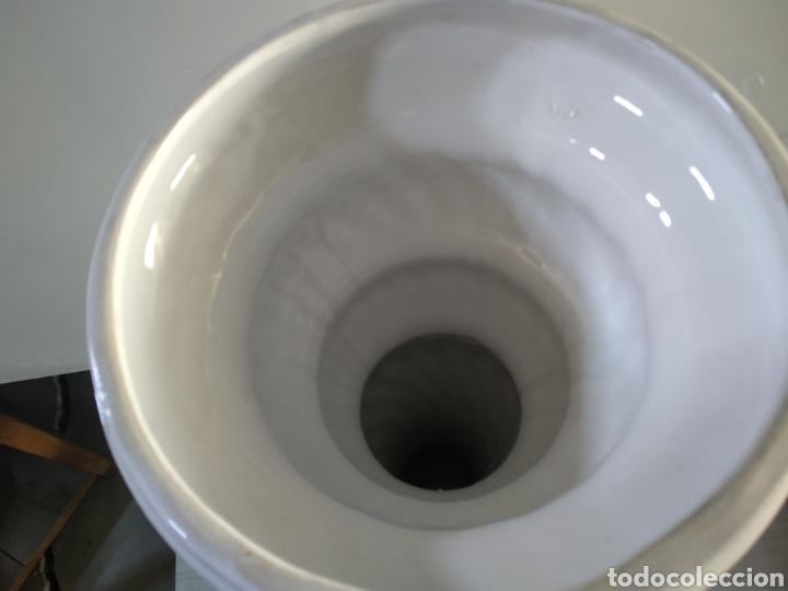 Antigüedades: Pie de cerámica para maceta o similar - Foto 4 - 209574351