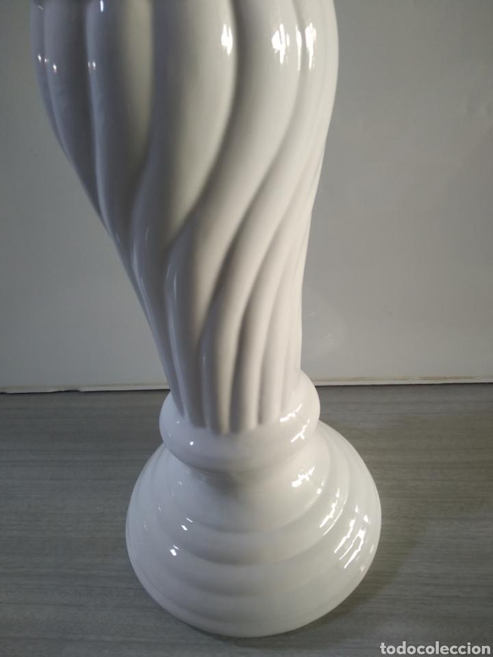 Antigüedades: Pie de cerámica para maceta o similar - Foto 6 - 209574351
