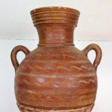 Antiguidades: AGUAMANIL CON GRIFO. CERÁMICA CON DECORACIÓN INCISA. ESPAÑA. XVIII-XIX. Lote 209574481