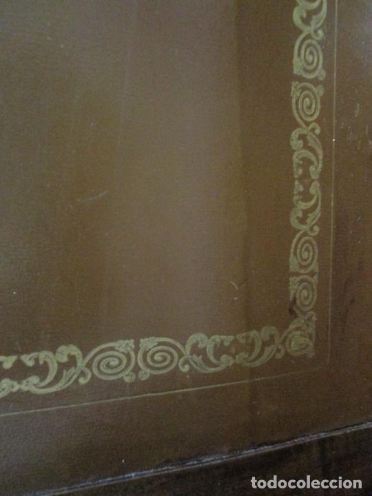 Antigüedades: Antiguo Escritorio Menorquín - Canterano, Estilo Regencia - Madera de Cerezo - Principios S. XIX - Foto 33 - 209582303