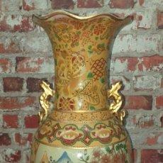 Antigüedades: GRAN JARRÓN 60 CM DE ALTURA MEDIADOS SIGLO XX. Lote 209585546