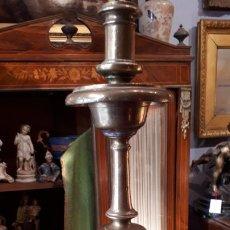 Antigüedades: CANDELERO DE BRONCES.XVIII.. Lote 209586612