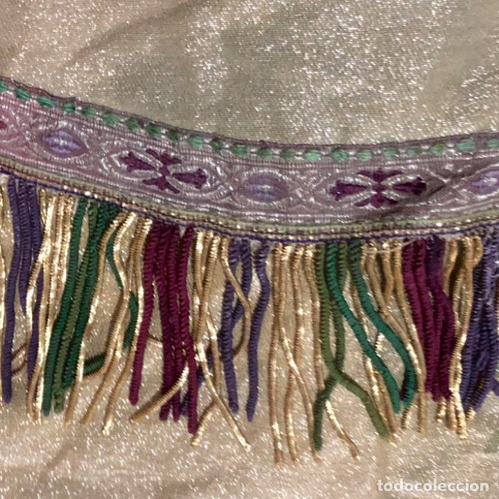 Antigüedades: Capa pluvial tisú de oro francesa bordada en oro - Foto 8 - 209671141