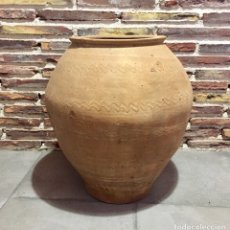 Antigüedades: TINAJA ARAGONESA, POSIBLEMENTE ZONA DE LA COMARCA DE GUDAR.. Lote 209672328