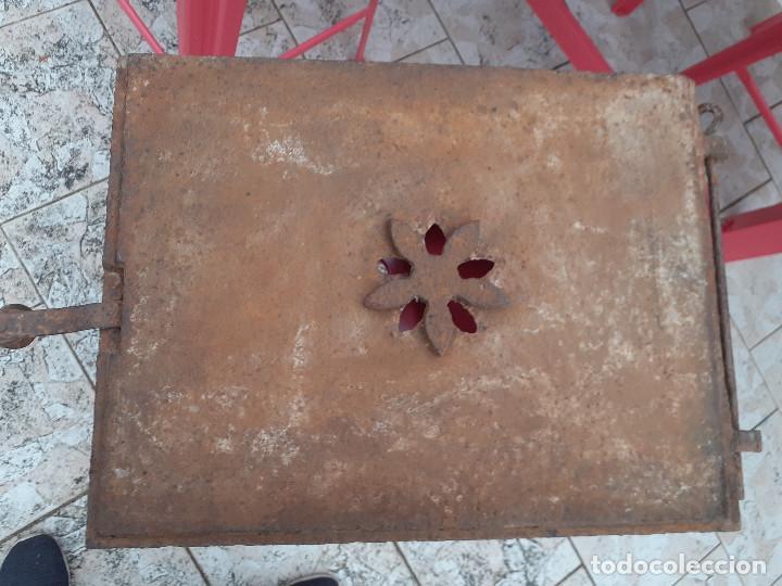 Antigüedades: Puerta de horno panadero antiguo - Foto 4 - 209676020