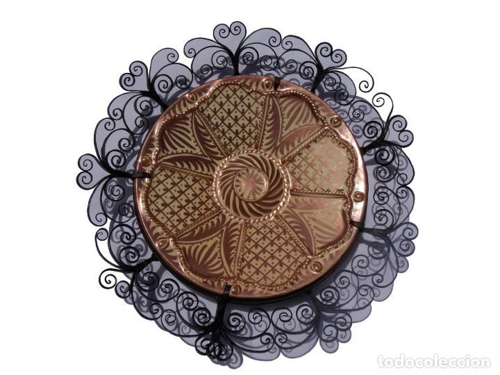PLATO CERAMICA LOZA MANISES GIMENEZ RIOS (Antigüedades - Porcelanas y Cerámicas - Manises)