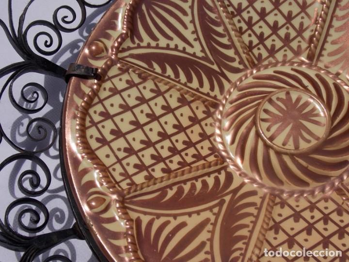 Antigüedades: PLATO CERAMICA LOZA MANISES GIMENEZ RIOS - Foto 3 - 209680588
