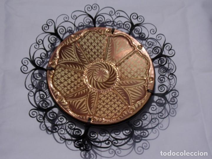 Antigüedades: PLATO CERAMICA LOZA MANISES GIMENEZ RIOS - Foto 8 - 209680588