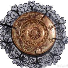 Antigüedades: PLATO CERAMICA LOZA MANISES GIMENEZ RIOS. Lote 209681130