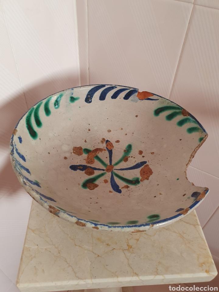 ANTIGUO PLATO CERÁMICA DE FAJALAUZA (Antigüedades - Porcelanas y Cerámicas - Fajalauza)