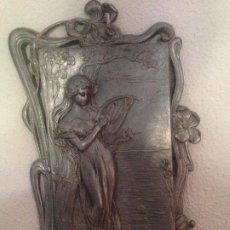 Antigüedades: CUADROS MODERNISTAS ART NOUVEAU (2 PIEZAS). Lote 209745180