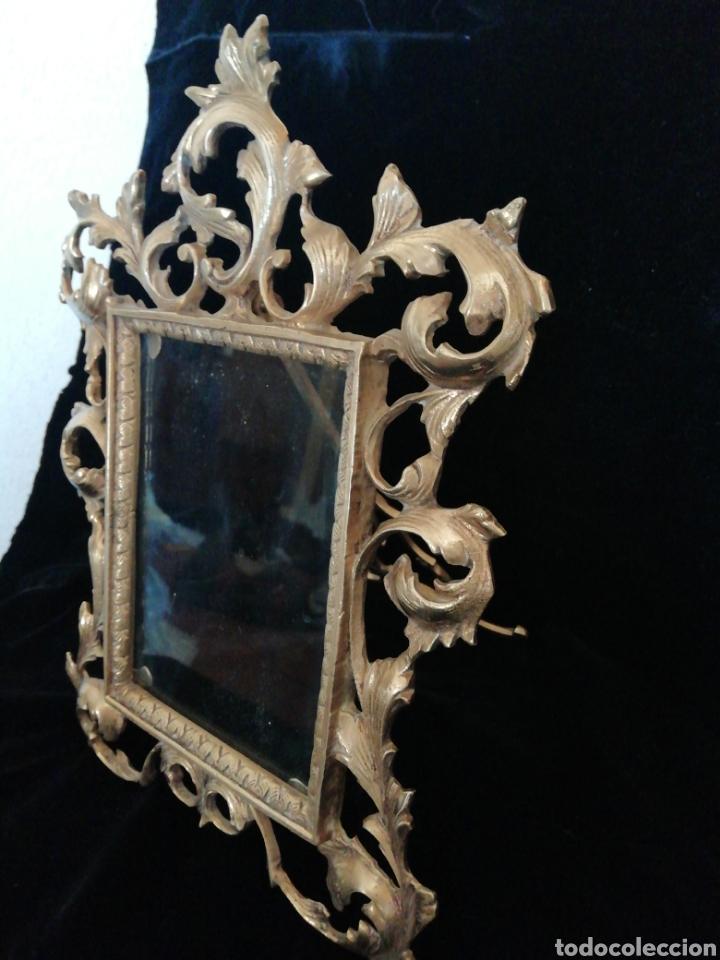Antigüedades: Marco de bronce siglo 19 20 - Foto 4 - 209745895