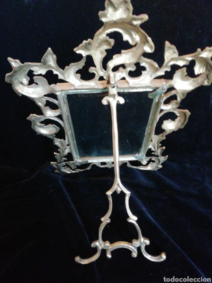 Antigüedades: Marco de bronce siglo 19 20 - Foto 5 - 209745895