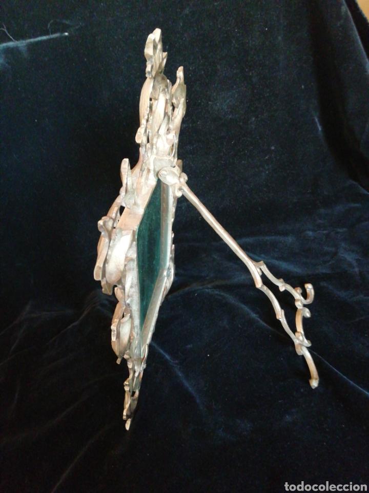 Antigüedades: Marco de bronce siglo 19 20 - Foto 6 - 209745895