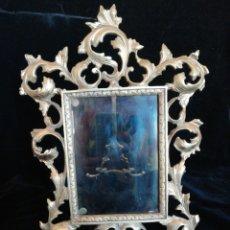 Antigüedades: MARCO DE BRONCE SIGLO 19 20. Lote 209745895