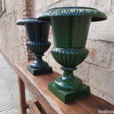 Antigüedades: PAREJA MACETEROS- JARDINERAS FRANCESES. Lote 209747655