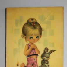 Antigüedades: ROMANTICA ESCENA INFANTIL. Lote 209756005