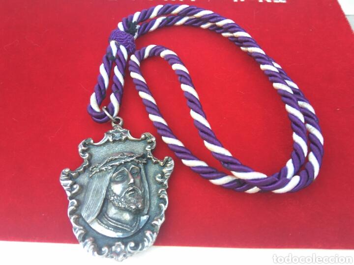 MEDALLA PASO BLANCO LORCA-MURCIA STMO.CRISTO DEL RESCATE (Antigüedades - Religiosas - Medallas Antiguas)