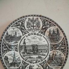 Antigüedades: PLATO DECORATIVO LONDON. Lote 209803482