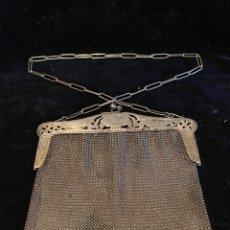 Antigüedades: BOLSO DE PLATA CONTRASTADA 800.. Lote 209823160
