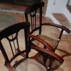 Antigüedades: SILLAS MECEDORAS. Lote 209833027