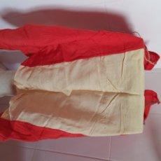 Antigüedades: ANTIGUA BANDERA DE ESPAÑA REALIZADA ARTESANALMENTE. Lote 209869575