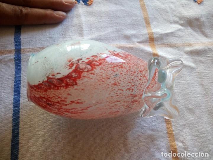 Antigüedades: Precioso búho de cristal de murano tricolor - Foto 7 - 209873598