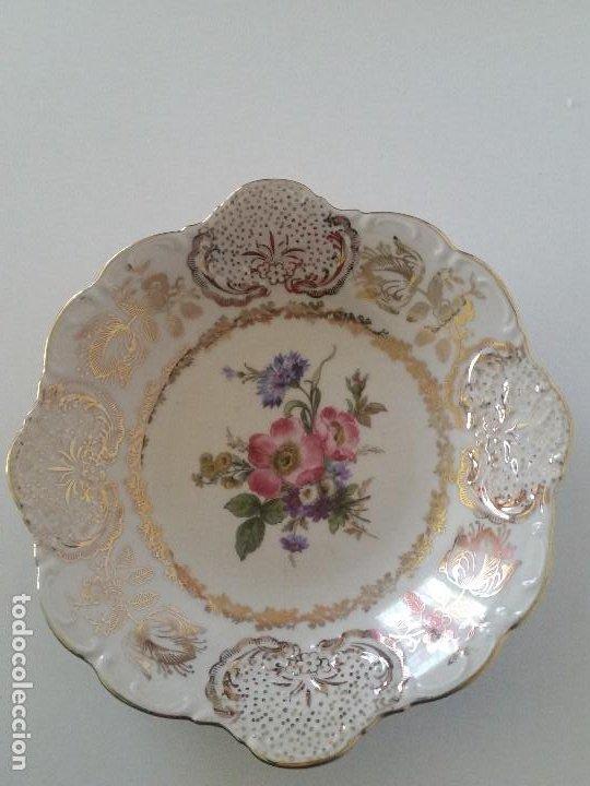 PLATO MUY ARMOSO HECHO Y PINTADO A MANO SELADO WINTERLING BAVARIA GERMANY N.40 (Antigüedades - Porcelana y Cerámica - Alemana - Meissen)