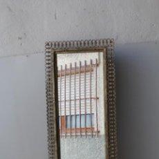 Antigüedades: ESPEJO DE METAL. Lote 209891933