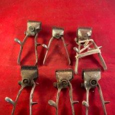 Antigüedades: LOTE DE 6 CORTAPELOS. Lote 209903657