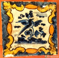 Antigüedades: AZULEJO DE MANISES DEL SIGLO XVIII. Lote 209919378
