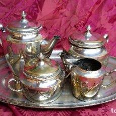 Antigüedades: IMPRESIONANTE JUEGO CAFÉ/TÉ.. Lote 209931043