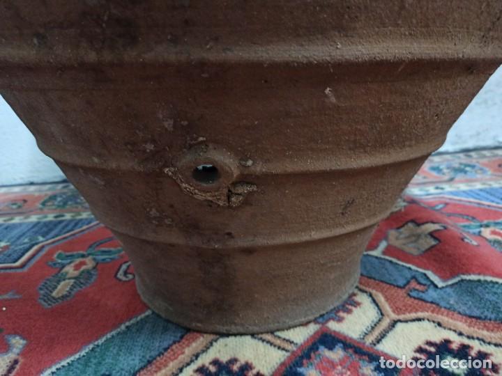 Antigüedades: Tinaja de barro con marcajes. PD - Foto 7 - 246868245