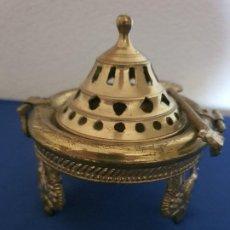 Antigüedades: ANTIGUO HORNILLO QUEMADOR DE INCIENSO. Lote 209995146
