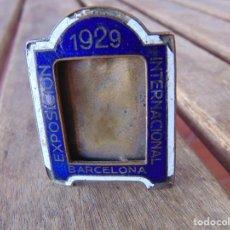 Oggetti Antichi: PEQUEÑO MARCO PARA FOTO O SIMILAR EXPOSICIÓN INTERNACIONAL DE BARCELONA AÑO 1929 ESMALTES. Lote 210003988