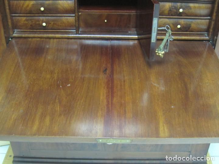 Antigüedades: Escritorio Biedermeier s XIX - Foto 11 - 210006967