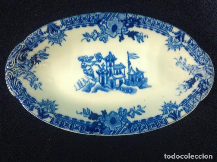 PEQUEÑA BANDEJA RABANERA SAN JUAN DE AZNALFARACHE (Antigüedades - Porcelanas y Cerámicas - San Juan de Aznalfarache)