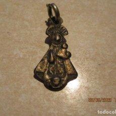 Antiguidades: MEDALLA DE PLATA DE NUESTRA SEÑORA DE NIEVA S. XVIII. Lote 210032098