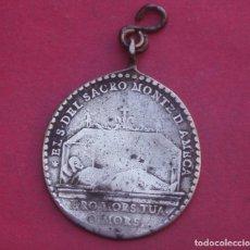 Antigüedades: MEDALLA PLATA AÑO 1810 SANTO CRISTO DEL SACROMONTE DE AMECA. MÉXICO.. Lote 210058556