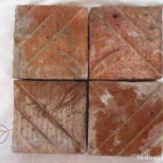 Antigüedades: PANEL 4 AZULEJOS BARROCOS VALENCIA. Lote 210064085