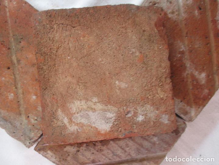 Antigüedades: Panel 4 azulejos barrocos Valencia - Foto 5 - 210064085