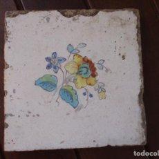 Antigüedades: AZULEJO BARROCO VALENCIANO. Lote 210064168
