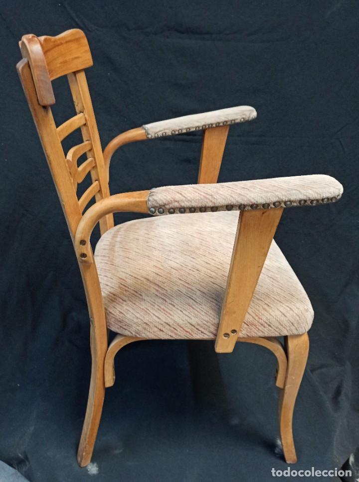 Antigüedades: Pareja de sillones de madera de haya. A1 - Foto 7 - 210081647