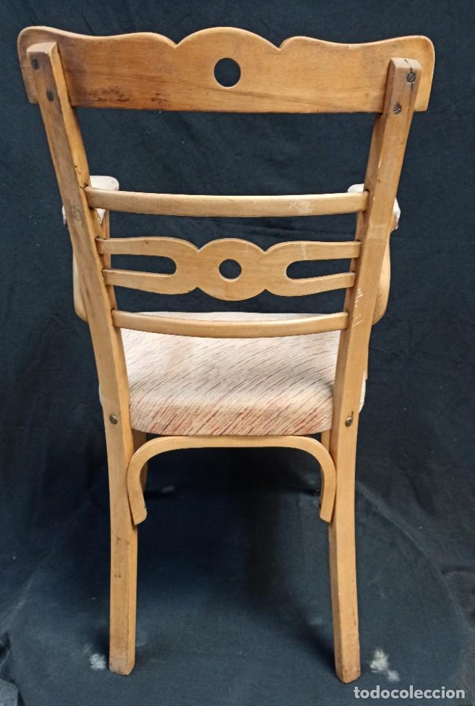 Antigüedades: Pareja de sillones de madera de haya. A1 - Foto 8 - 210081647