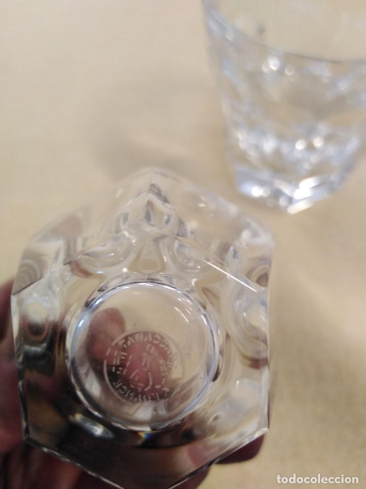 Antigüedades: Los dieciocho vasos Goncourt de BACCARAT por sólo cuatrocientos cincuenta euros - Foto 2 - 210088910