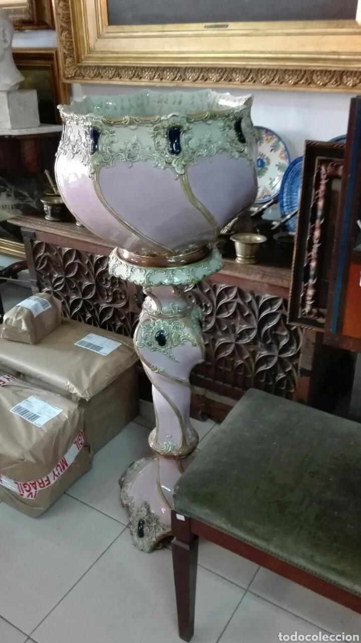 Antigüedades: Macetero roccoco para recoger en tienda - Foto 4 - 210094722