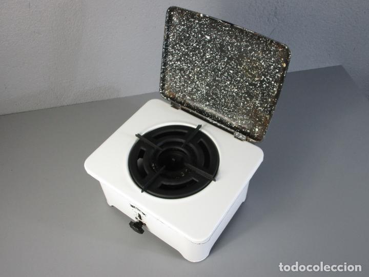 Antigüedades: Hornillo de Petróleo - Marca Irum, Mod B - Cocina Económica - con Instrucciones - Años 40-50 - Foto 22 - 210095615