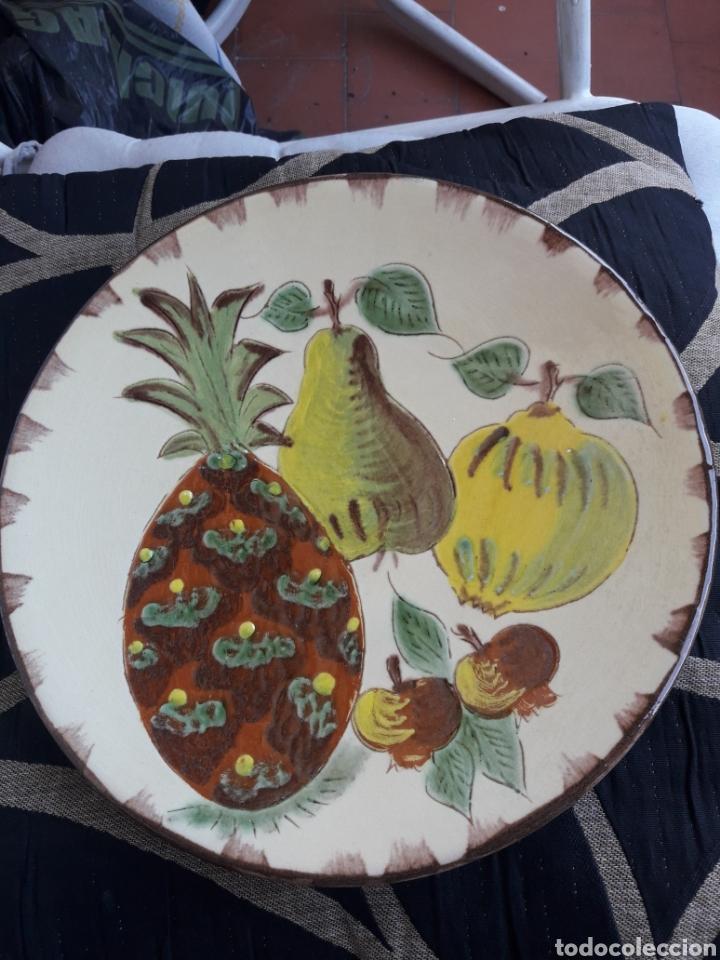 ANTIGUO PLATO DE CERÁMICA PUIGDEMON (Antigüedades - Porcelanas y Cerámicas - La Bisbal)